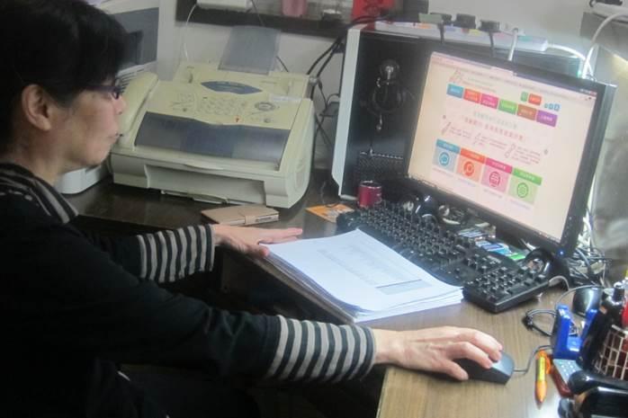 2014-15年度耆星課程B班學員 龍雪玲女士